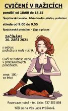 Cvičení v Ražicích - Špejcharské protažení 1